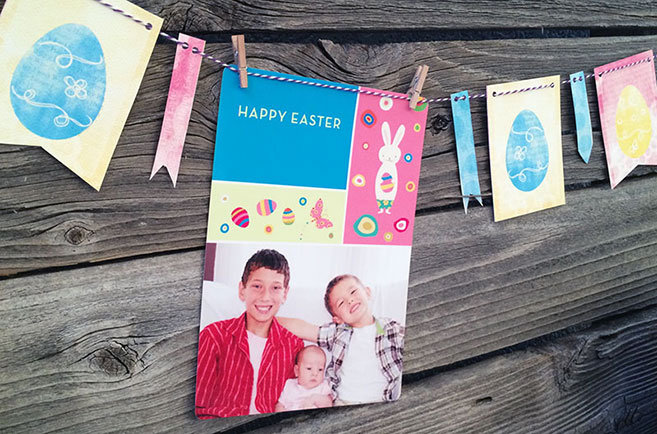 Easter Photo Garland