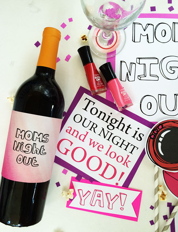 Host a Girls Night with Moms Nite Out