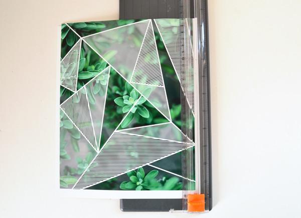 Geometric Photo Print Wall Art Myprintly