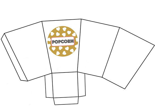 Glam mom 39 s night out cocktail party myprintly for Popcorn container template