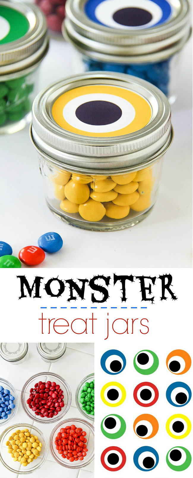 Easy Monster Treat Jars