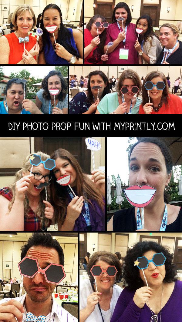 DIY Printable Photo Props