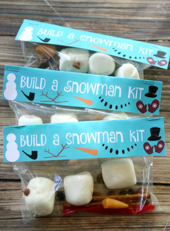 Snowman Kit Treats - MyPrintly
