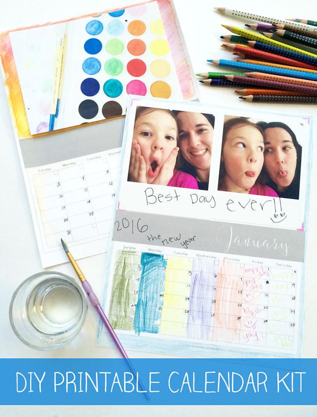 Printable Calendar Kit