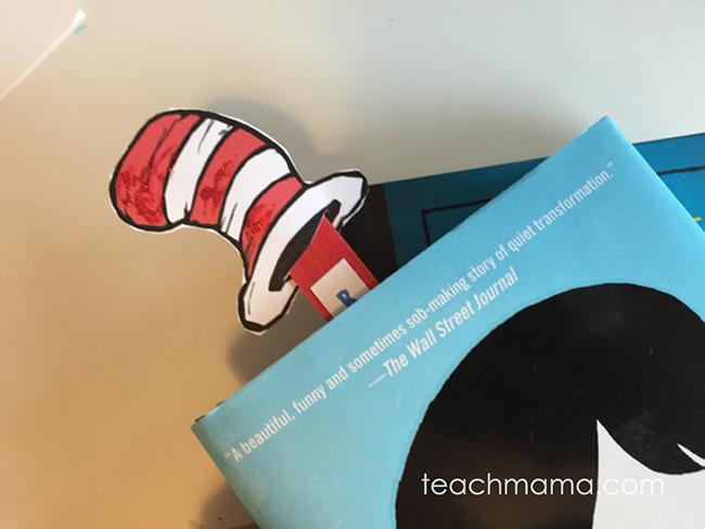 Celebrate Reading Bookmarks