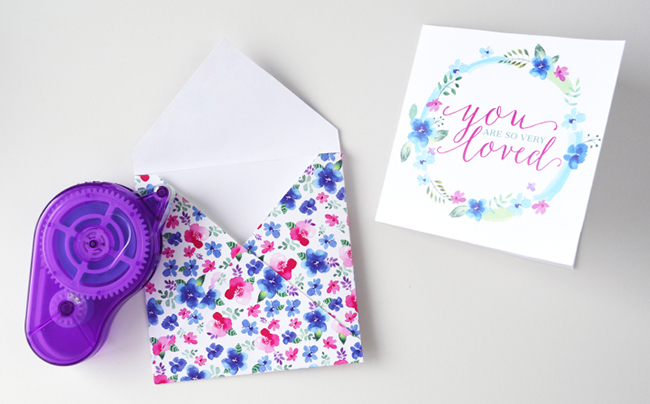 You Are Loved Card and Envelope