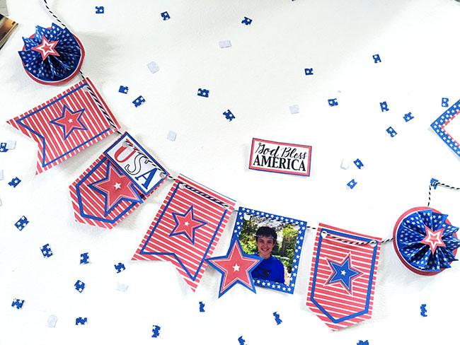Mini Patriotic Bunting