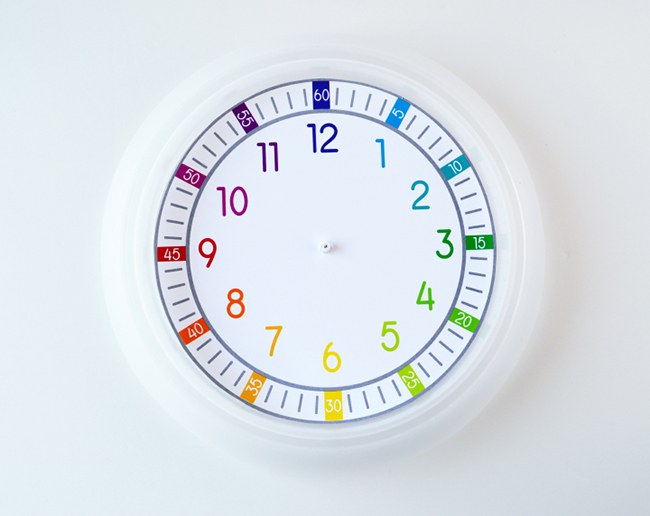 printable clock face for kids myprintly