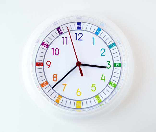 Printable Clock Face for Kids - MyPrintly