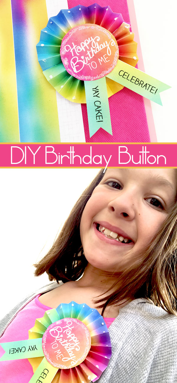 DIY Birthday Button