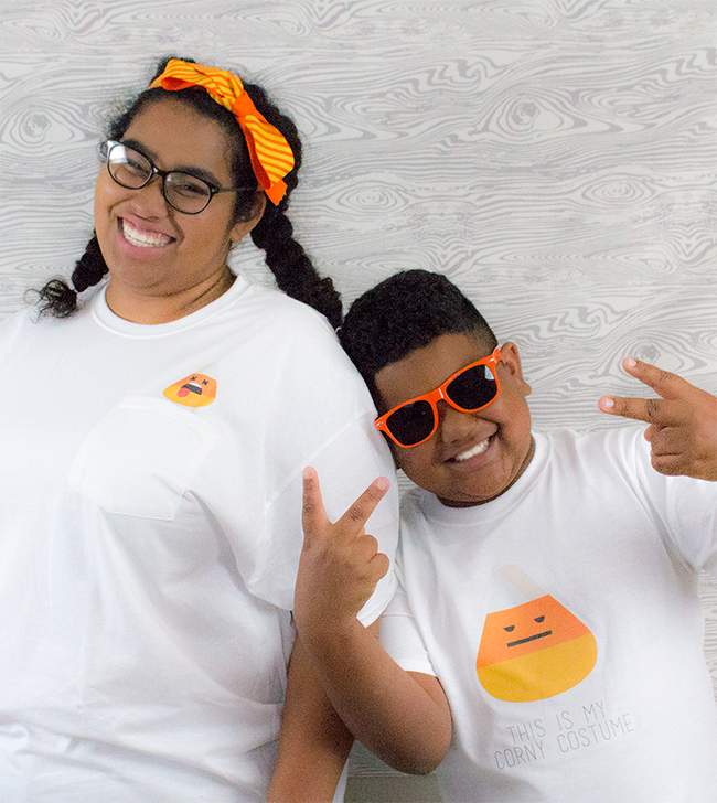 Silly Candy Corn Shirts and Tote