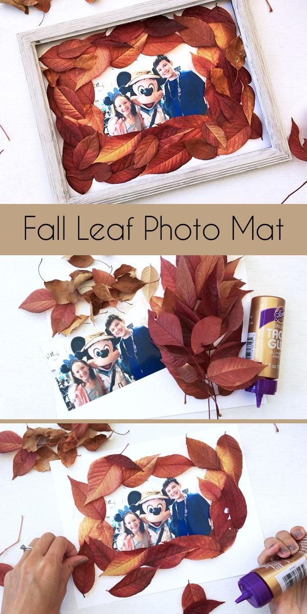 Fall Leaf Photo Frame