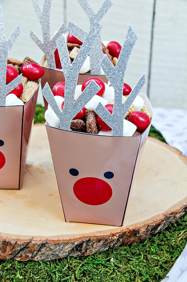 Reindeer Food Treat Tubs