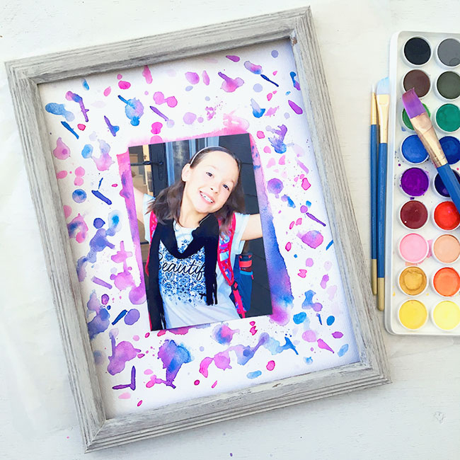 Splatter Paint Photo Mat