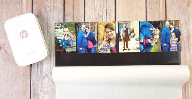 DIY Photo Magnets with HP Sprocket