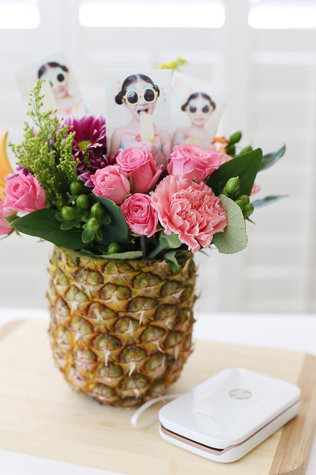 Pineapple Flower Vase Myprintly