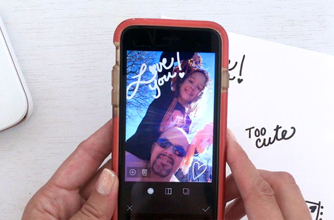 Custom Photo Stickers with Sprocket