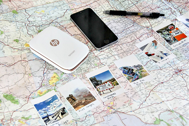 Memory-Filled Travel Map with Kids
