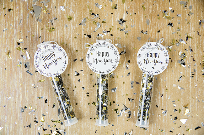 DIY New Years Eve Party Poppers