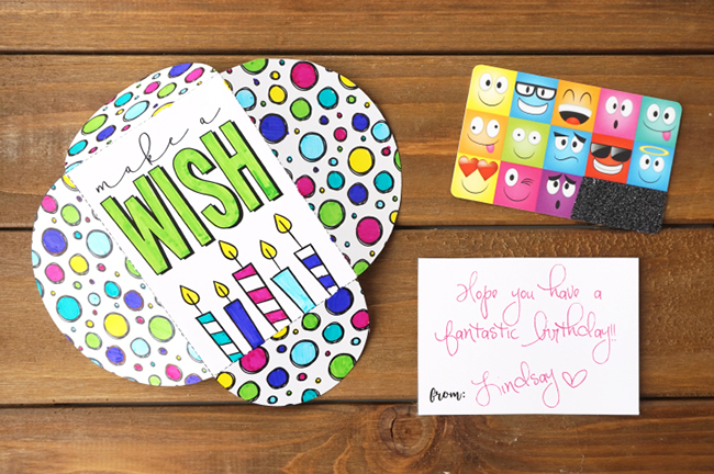 DIY Birthday Gift Card Holder
