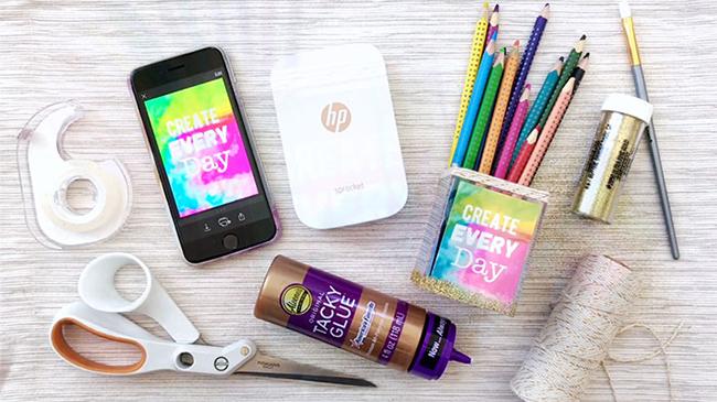 DIY Photo Art Pencil Holder
