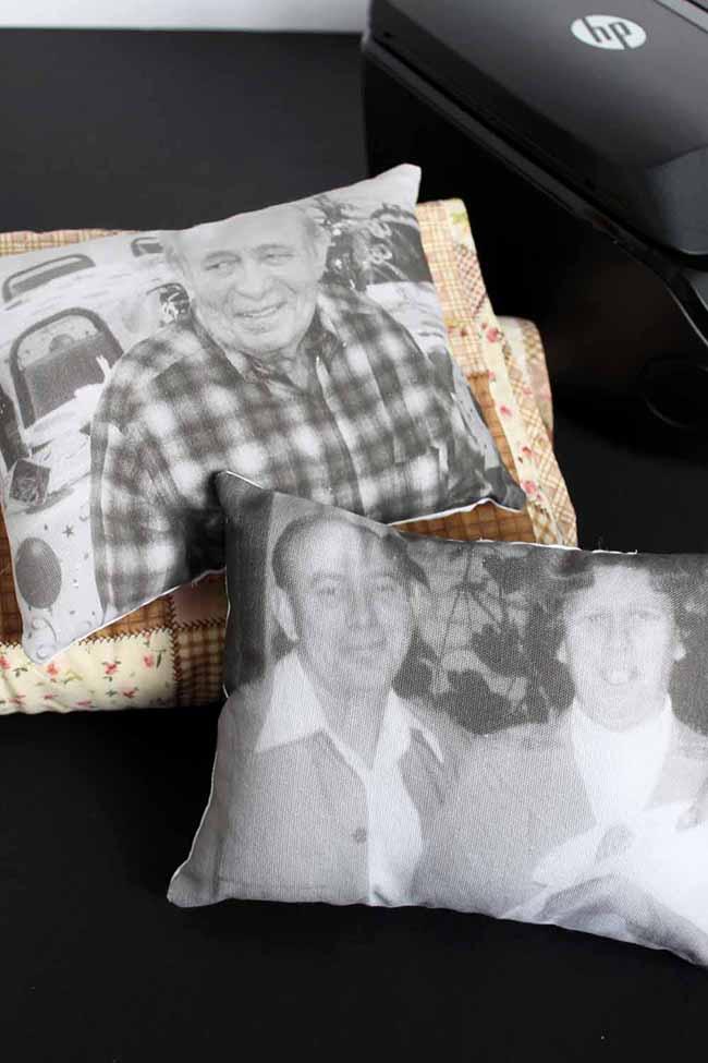 DIY Memory Pillows