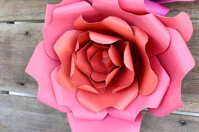 Diy Paper Flowers Myprintly