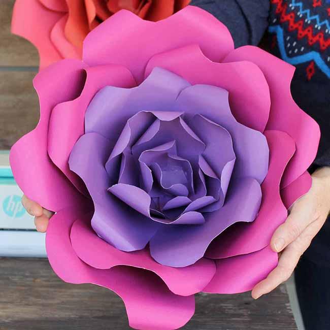 Diy paper flowers myprintly diy paper flowers mightylinksfo