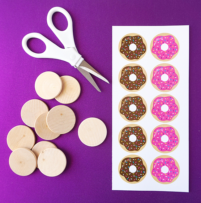 DIY Donut Tic Tac Toe Game