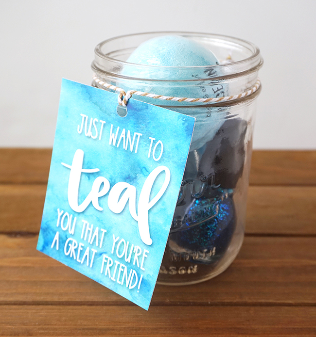 DIY Friendship Gift Idea with Printable Tag