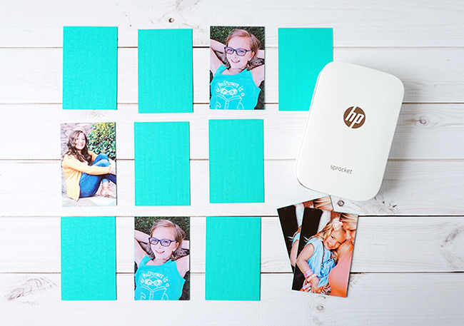 DIY Personalized Photo Memory Game