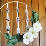 DIY Wedding Photo Wreath
