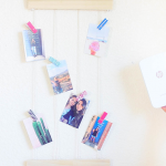 DIY Photo Wall Display