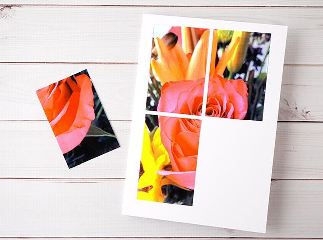 DIY Tile Photo Card