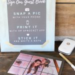 DIY Photo Guest Book for a Wedding