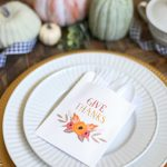 Printable DIY Thanksgiving Utensil Pouches