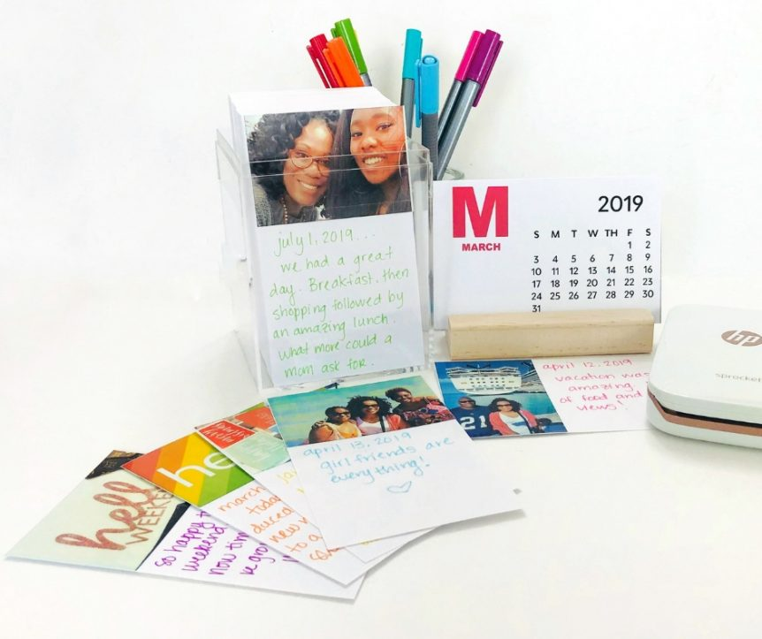 DIY 2019 Desk Calendar + A Photo A Day