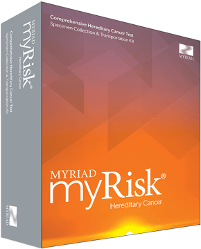 myRisk Hereditary Cancer Product Box