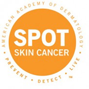 American Academy of Dermatology Spot Skin Cancer Logo