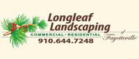 Website for Longleaf Landscaping of Fayetteville