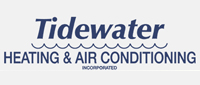 Website for Tidewater Heating & Air Conditioning, Inc.