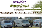 Website for Derrick French Remodeling LLC