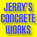 Website for Jerry's Concrete Works