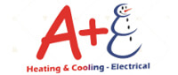 Website for A+ Heating, Cooling & Electrical