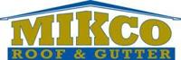 Website for Mikco Roof & Gutter