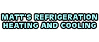 Website for Matt's Refrigeration Heating & Air Condtioning, Inc.