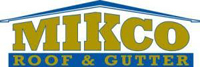 Website for Mikco Roof & Gutter