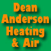 Website for Dean Anderson Heating & Air