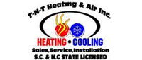 Website for T N T Heating & Air Conditioning