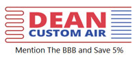 Website for Dean Custom Air, LLC